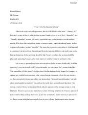 literary narrative essay