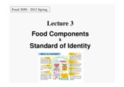 Food_Processing_L3-Food_Components_Standard_of_Identity