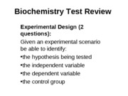 Biochemistry_Test_Review