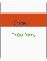 Chapter_2_The Open Economy