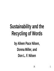 recycled-words.ppt