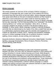 Whole Language Research Paper Starter - eNotes.pdf