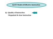 17 QAIT Model of Effective Instruction