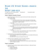 Nutrition Study Guide Exam 2.docx