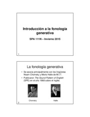 Lecture Notes - Introduccion a la fonolia generativa