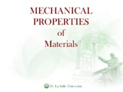 scimatp lecture 12 Mechanical Properties of Materials 2011