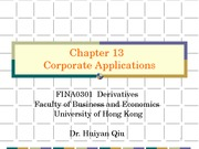 13) Corporate Application