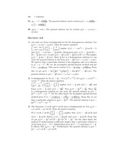 Ordinary Diff Eq Exam Review Solutions 104
