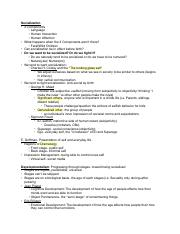 Test 3 Notes_ Socialization