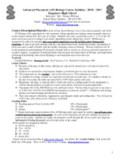 377-AP_Biology_Course_Syllabus_and_Outline-2010-2011