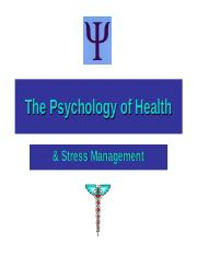 Health Psychology.ppt