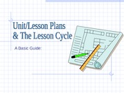Unit Lesson.Plan.Cycle