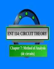 Chapter 7_Method of analysis dc