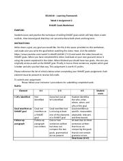 Week 2_Assignment 3_SMART Goals Worksheet