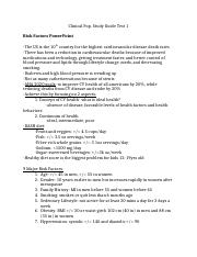 Clinical Pop. Study guide test 1.docx