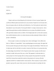 ESSAY #5 In Groups We Shrink.docx