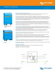 Datasheet-Isolation-Transformers-EN