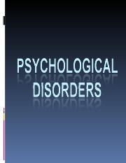 psy disorders f13