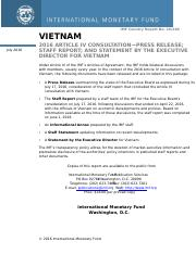 Vietnam country report-2016