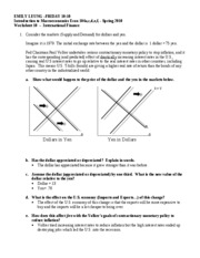Worksheet 10