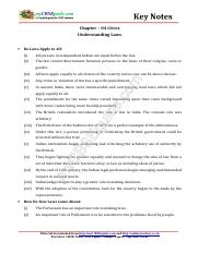 08_social_science_civics_key_notes_ch_04_understanding_laws