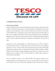 the main strengths and weaknesses of tesco s Tesco is one of the three major international retail chains in the market - swot   to observe strength, weakness, opportunities and threats, it is important to carry.