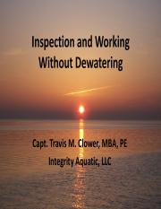 Clower Inspection and Working Without De-watering.pdf