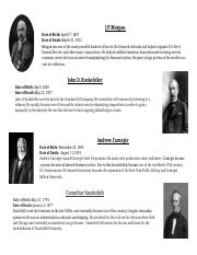US History Biographies