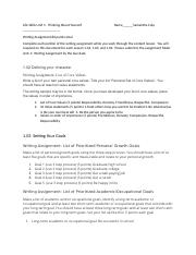 Life Skills Unit 1 Writing AssignmentSamanthaCulp.docx