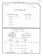 EE 517 : Statistics For Engineers - USC