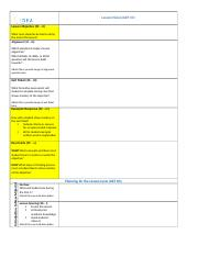 Lesson Plan Template - Daily View