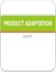 Lecture 8 - Product adaptation.pptx