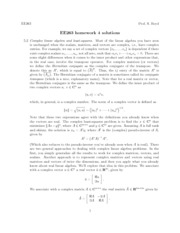 ee263 homework solutions