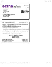 Aetna ID card UCB Insurant - title 11:48 PM Open Access