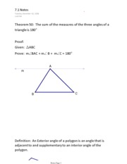 geometry ch 7 notes