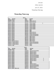 three-day-time-log