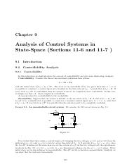Chapter9 Analysis of Control Systems in