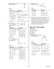 Pre-Calculus Homework Solutions 41