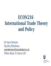 Lecture 8 (Regional Economic Integration).pptx