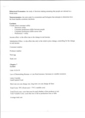 Business 100 class notes 5