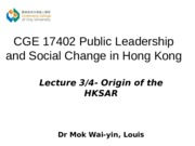 CGE 17402 2014-15 Sem B Lecture 3-Mok