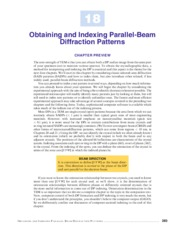 Obtaining_and_Indexing_Parallel_Beam_Diffraction_Patterns