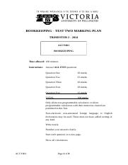 ACCY001 2014 TRI 2 TEST 2 Marking Plan.docx