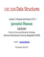 CSC2105 Lecture 03- Structure and Class in C C++ .pptx