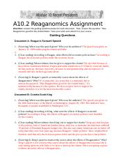 M10A2 Reaganomics Assignment.docx