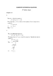 ELEMENTRY DIFFERENTIAL EQUATIONS 3.4