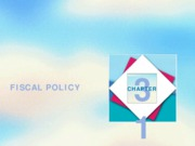 Chapter 15_Fiscal Policy