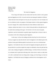 essay 2 intellectual journey
