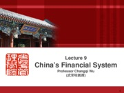 econ6031 lecture 9 financial system 20151120