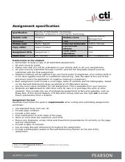 ITCO221 _ Assignment _ Specification (V1.0).pdf